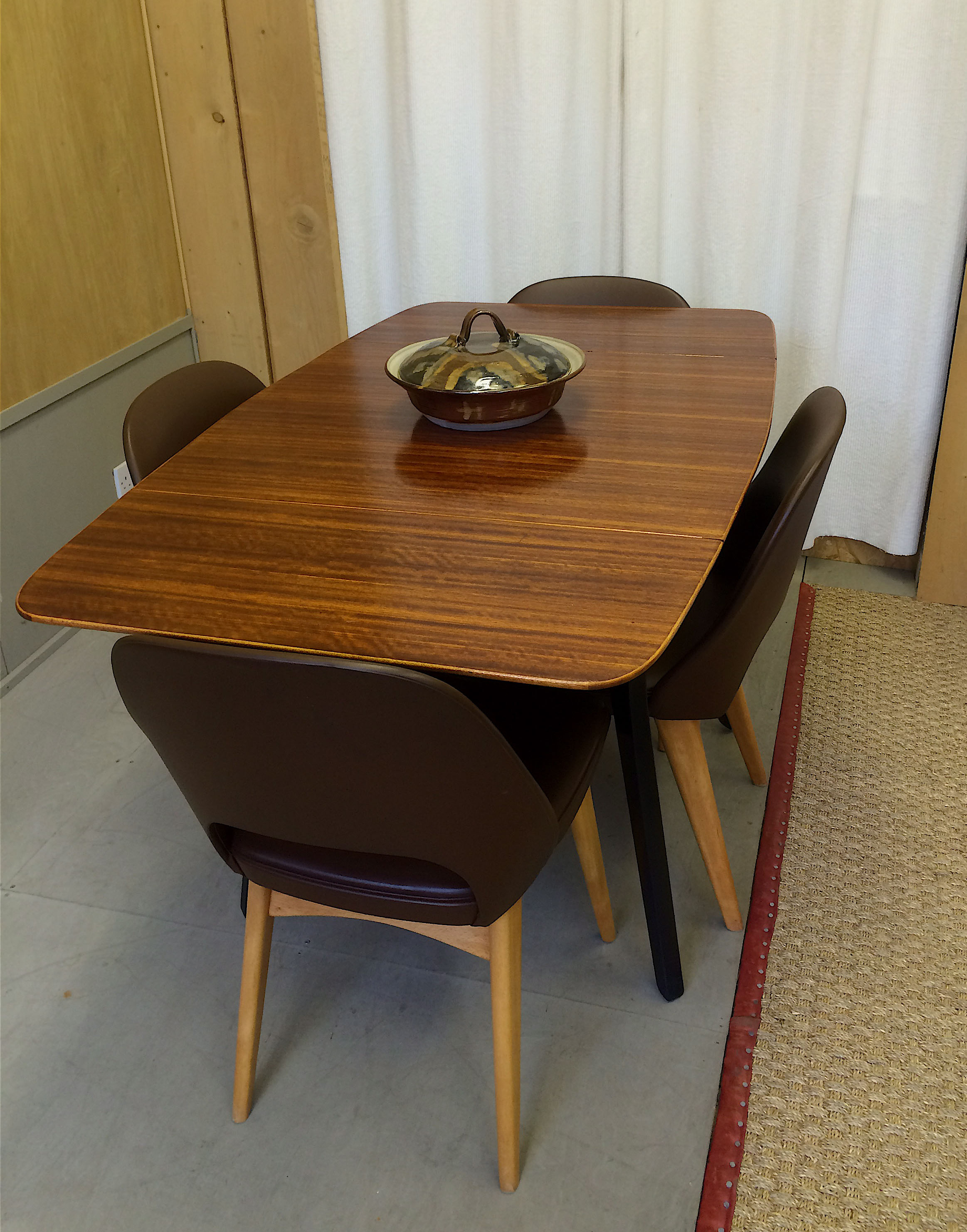 gbad design room retro 1950s g plan dining table drop leaf 1