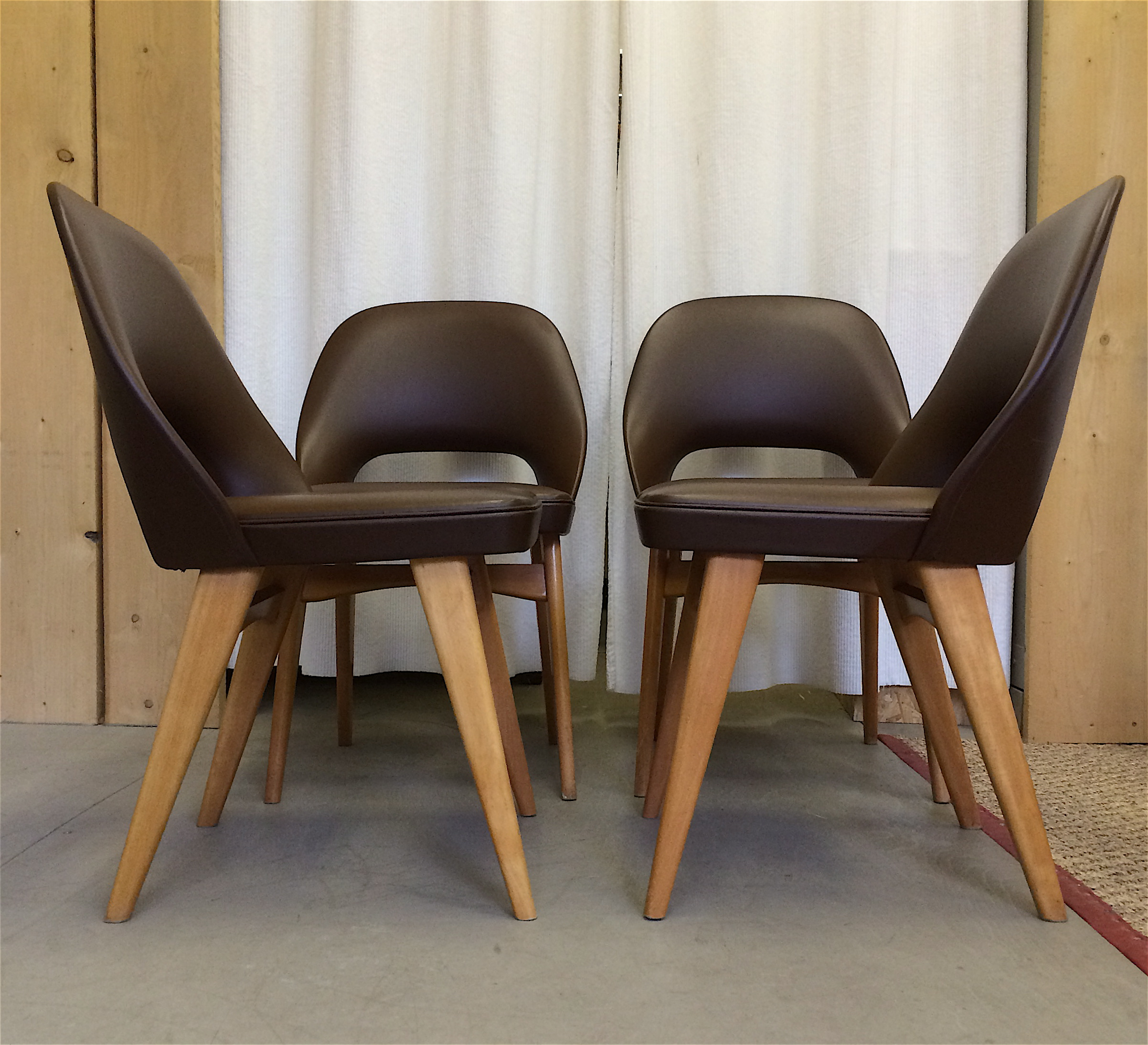 Set Of 4 Dining Room Chairs: Ben Chairs Of Stowe, Set Of 4 Dining